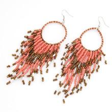 Hochwertige Samen Perle baumeln Ohrringe
