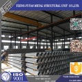 10M 12M Tubular Steel Posts With Galvanized
