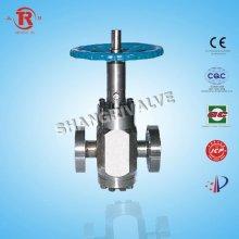 High pressure flat gate valve wheel handle