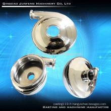 Couvercle de pompe personnalisé en acier de précision