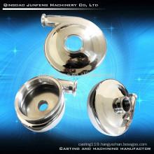 Steel precision customized pump cover