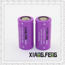 3.7V Xiangfeng 16340 600mAh 8A Imr Wiederaufladbare Lithium-Batterie 16340 Batterie