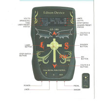 Edison Device Remote Control Tattoo Power Supply