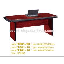 Secretária de design de mesa de escritório, Design personalizado Venda de mesa de escritório (T2040)