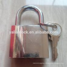 Best quality chrome plated key alike padlock