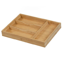 High Quality for Bamboo Cutlery Tray Drawer Organizer Healthy bamboo kitchenware, bamboo knife box supply to Afghanistan Factory
