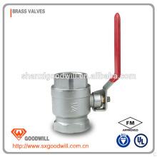 válvula de globo de latón / llave de paso para agua