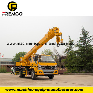 Truck Mounting Crane Solution 10 Ton