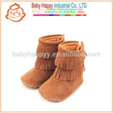 Кожаные мокасины для детской обуви Высококачественные детские ботильоны