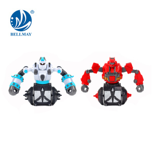 Newest Battle RC Robot Fight 360 degree Rotating RC Fighting Robot Toy For Sale