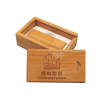 Logo Customized Photography Wood Pen Drive 8 gb