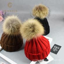 Günstigen Preis besten weichen Wolle Hüte Großhandel für den Winter