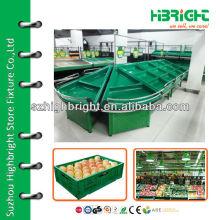 supermarket vegetable display stand