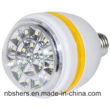 Alta potencia recargable de luz LED