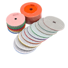 Feiyan Factory Direct  Wet Flexible Diamond Polishing Pads