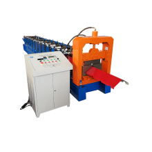 Auto Color Coil Panel Ridge Cap Roll Forming Machine