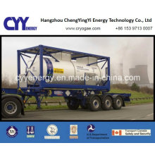 Cyy High Quality and Low Price Liquid Oxygen Nitrogen Argon Fuel Storage Tank Container