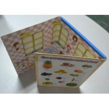 Rompecabezas magnético del refrigerador de goma de alta calidad para el regalo de la promoción