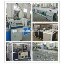 High quality-PVC plastic pipe extruding machine