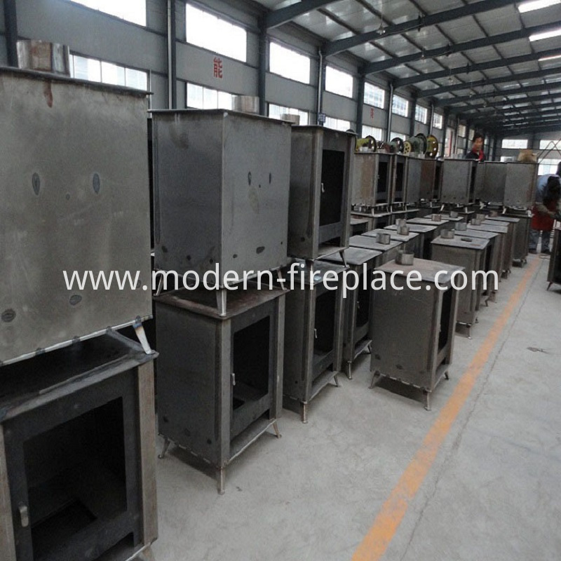 In Production Outside Wood Burning Stoves