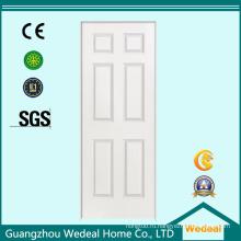 Текстурированные/гладкие белые американские панельные деревянные двери для проекта (WDHC02)