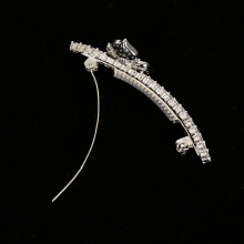 Lady Crystal Rhinestone Drop Beads Hairpins