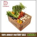 High quality custom size wholesale corrugated cardboard fridge vegetable box