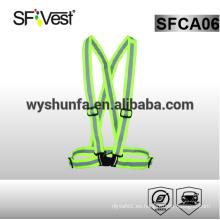 Hi vis clothing ropa de protección personal cinturón reflectante de seguridad con 3M cinta reflectante