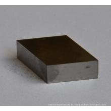 Placas retangulares retangulares resistentes do desgaste da placa de metal