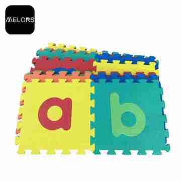 Melors Baby Play Gym Printing Foam Puzzle Mat