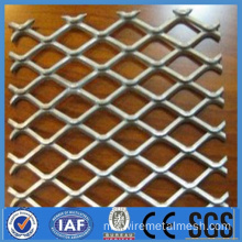 Diperluas Pvc bersalut Perforated Metal Wire Mesh