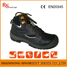 Black Action Leather Executive Safety Shoes RS724