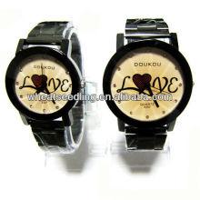 Geschenk Paar Uhr Set mit Liebe Design für Liebhaber JW-41