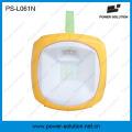 Lanterne d'urgence solaire portative 2W avec chargeur de téléphone 5-en-1