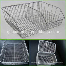 Stainless Steel Sterilization Wire Mesh Trays and Baskets strainer