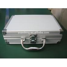 Personalizado alumínio lanterna / tocha caso caso de armazenamento de caso de ferramenta com inserto de esponja