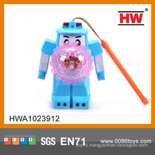 Hot sale funny kid robot with light and music