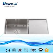 Handgebaute Küchenspülbecken sinken einzelne Schüssel mit einzelner Platte ohne Hahneigenschaft