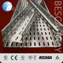 Hot dip Galvanised Perforated Cable Tray Support System (UL,IEC,CE,ISO)