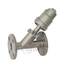 Pièces de précision de corps de valve de Seat d'angle fait sur commande