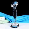 Populäres neues Design-Preis-Andenken-Geschenk-Schwarz-Kristalltrophäe