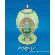 Easter Decorative Ceramic Tealight Candle Holder