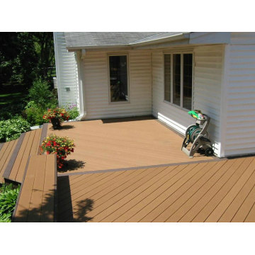 Engineered Project for Outdoor UV Resistance WPC Flooring