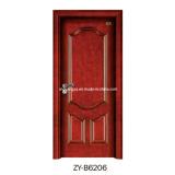 Timber Door Wooden Door Solid Wood Door (ZY-B6206)