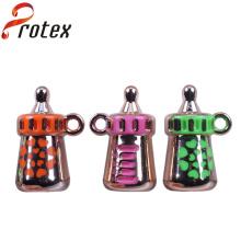 2015 Venta caliente popular nuevo producto pequeño ornamento de plástico colorido