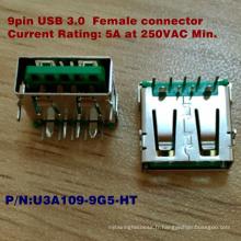 Connecteur USB3.0