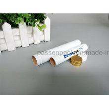 Weißes Aluminium-Tube für kosmetische Verpackungen (PPC-ACT-037)