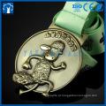 Medal fabricante fazendo medalhas de musicas de desenho de metal
