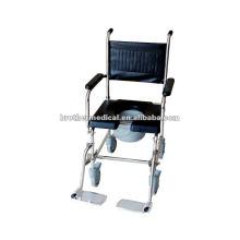 Cadeira de Commode em aço inoxidável