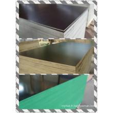 Contreplaqué de construction avec Poplar Core Black Film WBP Glue (HBC009)